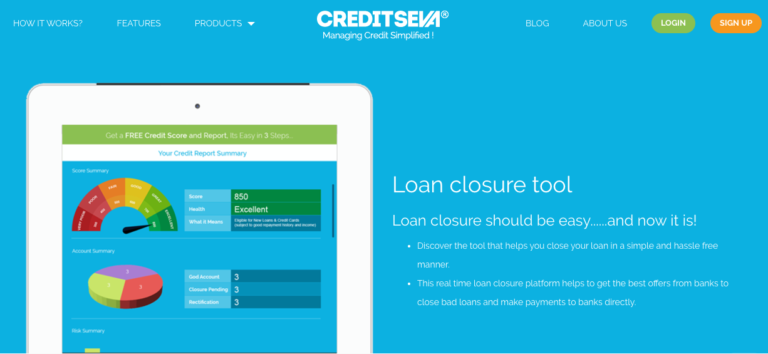 CreditSeva_loan closure